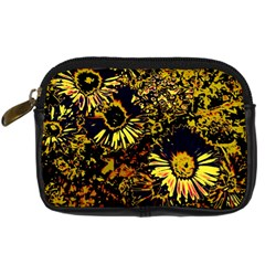 Amazing Neon Flowers B Digital Camera Cases