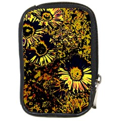 Amazing Neon Flowers B Compact Camera Cases