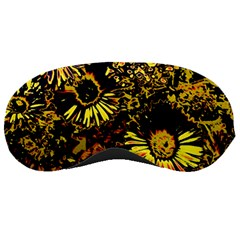 Amazing Neon Flowers B Sleeping Masks