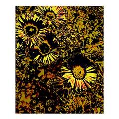 Amazing Neon Flowers B Shower Curtain 60  X 72  (medium)