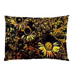 Amazing Neon Flowers B Pillow Case (two Sides)