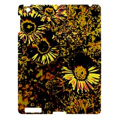 Amazing Neon Flowers B Apple Ipad 3/4 Hardshell Case
