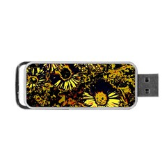 Amazing Neon Flowers B Portable Usb Flash (two Sides)