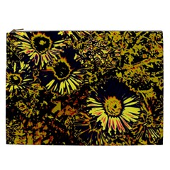 Amazing Neon Flowers B Cosmetic Bag (xxl)