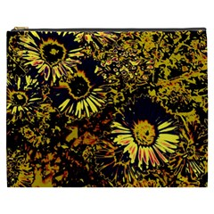 Amazing Neon Flowers B Cosmetic Bag (xxxl)