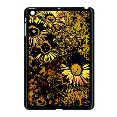 Amazing Neon Flowers B Apple Ipad Mini Case (black)