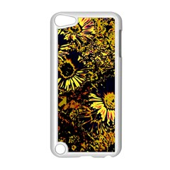 Amazing Neon Flowers B Apple Ipod Touch 5 Case (white)