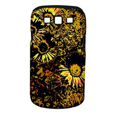 Amazing Neon Flowers B Samsung Galaxy S Iii Classic Hardshell Case (pc+silicone)