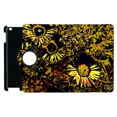 Amazing Neon Flowers B Apple Ipad 3/4 Flip 360 Case