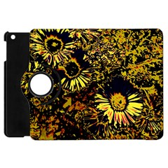 Amazing Neon Flowers B Apple Ipad Mini Flip 360 Case