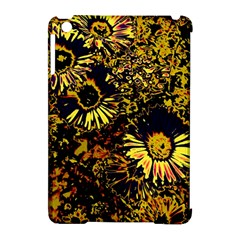 Amazing Neon Flowers B Apple Ipad Mini Hardshell Case (compatible With Smart Cover)