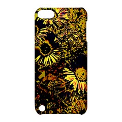 Amazing Neon Flowers B Apple Ipod Touch 5 Hardshell Case With Stand