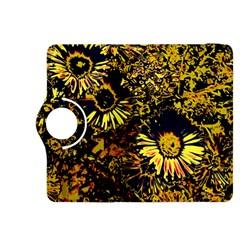 Amazing Neon Flowers B Kindle Fire Hdx 8 9  Flip 360 Case