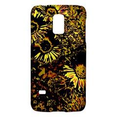 Amazing Neon Flowers B Galaxy S5 Mini
