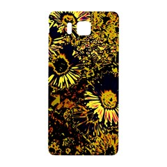 Amazing Neon Flowers B Samsung Galaxy Alpha Hardshell Back Case