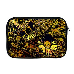 Amazing Neon Flowers B Apple Macbook Pro 17  Zipper Case