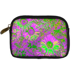 Amazing Neon Flowers A Digital Camera Cases