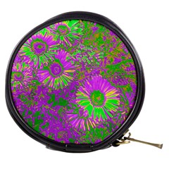 Amazing Neon Flowers A Mini Makeup Bags