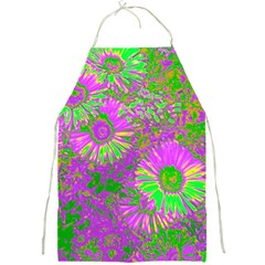 Amazing Neon Flowers A Full Print Aprons