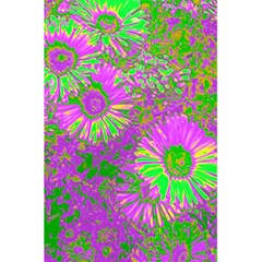 Amazing Neon Flowers A 5 5  X 8 5  Notebooks