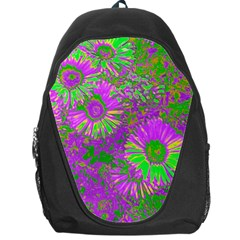 Amazing Neon Flowers A Backpack Bag