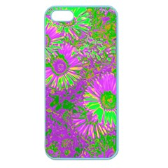Amazing Neon Flowers A Apple Seamless Iphone 5 Case (color)