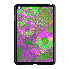 Amazing Neon Flowers A Apple Ipad Mini Case (black)
