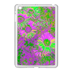 Amazing Neon Flowers A Apple Ipad Mini Case (white)