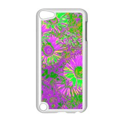 Amazing Neon Flowers A Apple Ipod Touch 5 Case (white)