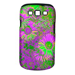 Amazing Neon Flowers A Samsung Galaxy S Iii Classic Hardshell Case (pc+silicone)