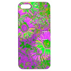Amazing Neon Flowers A Apple Iphone 5 Hardshell Case With Stand