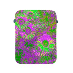 Amazing Neon Flowers A Apple Ipad 2/3/4 Protective Soft Cases
