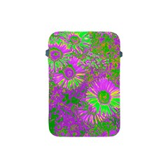 Amazing Neon Flowers A Apple Ipad Mini Protective Soft Cases