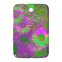 Amazing Neon Flowers A Samsung Galaxy Note 8 0 N5100 Hardshell Case