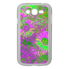 Amazing Neon Flowers A Samsung Galaxy Grand Duos I9082 Case (white)