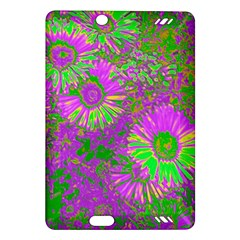 Amazing Neon Flowers A Amazon Kindle Fire Hd (2013) Hardshell Case