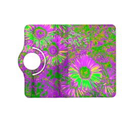 Amazing Neon Flowers A Kindle Fire Hd (2013) Flip 360 Case
