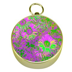 Amazing Neon Flowers A Gold Compasses