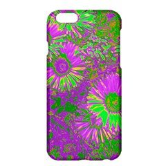 Amazing Neon Flowers A Apple Iphone 6 Plus/6s Plus Hardshell Case