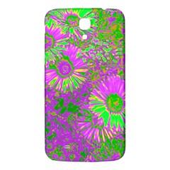 Amazing Neon Flowers A Samsung Galaxy Mega I9200 Hardshell Back Case