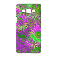 Amazing Neon Flowers A Samsung Galaxy A5 Hardshell Case