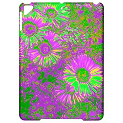 Amazing Neon Flowers A Apple Ipad Pro 9 7   Hardshell Case