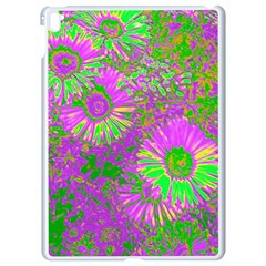 Amazing Neon Flowers A Apple Ipad Pro 9 7   White Seamless Case
