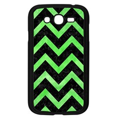 Chevron9 Black Marble & Green Watercolor Samsung Galaxy Grand Duos I9082 Case (black)