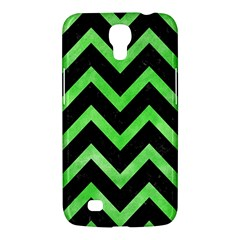 Chevron9 Black Marble & Green Watercolor Samsung Galaxy Mega 6 3  I9200 Hardshell Case