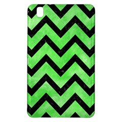 Chevron9 Black Marble & Green Watercolor (r) Samsung Galaxy Tab Pro 8 4 Hardshell Case