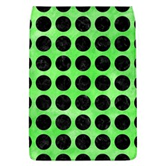 Circles1 Black Marble & Green Watercolor (r) Flap Covers (l)