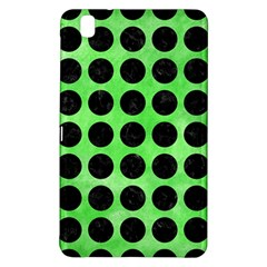 Circles1 Black Marble & Green Watercolor (r) Samsung Galaxy Tab Pro 8 4 Hardshell Case
