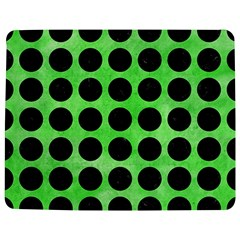 Circles1 Black Marble & Green Watercolor (r) Jigsaw Puzzle Photo Stand (rectangular)