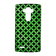 Circles3 Black Marble & Green Watercolor Lg G4 Hardshell Case